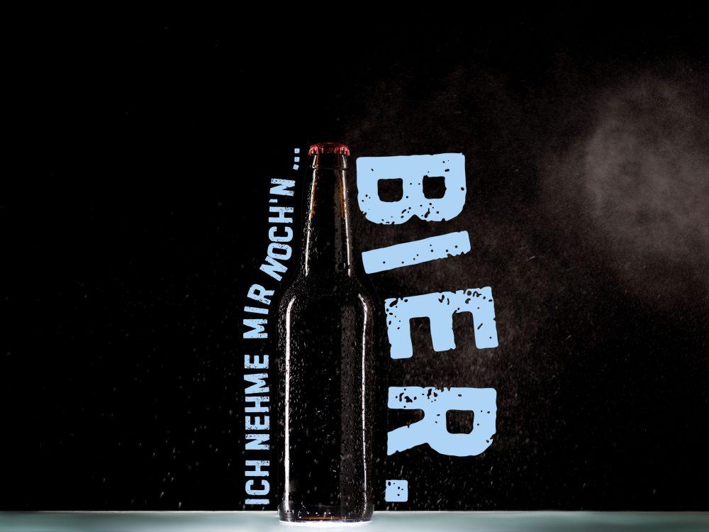 Ich nehme mir nochn Bier.