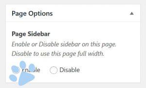 Screenshot Sidebar in WordPress aktivieren